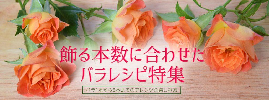 飾る本数で楽しむバラ特集バナー2
