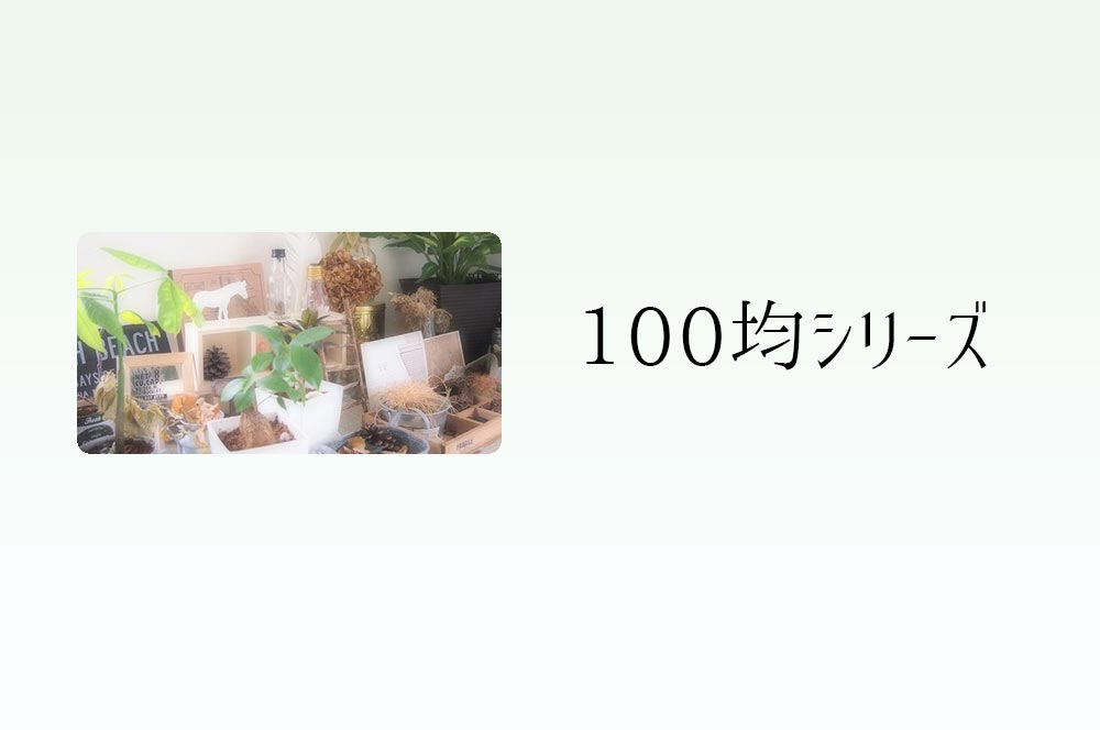 100均シリーズ